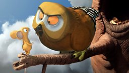 Character profile: Owl (Voiced by John Hurt)