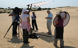 On location in Madagascar