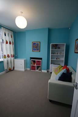 After:  Front / play room