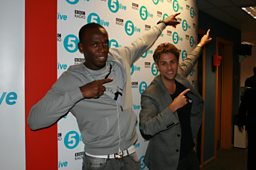 Usain Bolt with Richard