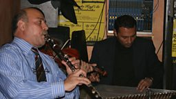 Selim Sesler (playing clarinet)