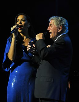 Leona Lewis sings with Tony