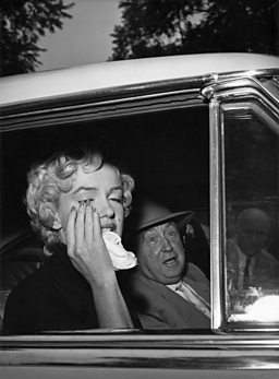 Marilyn, beginning of the end. 1954