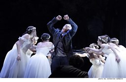 Dmitri Hvorostovsky as Valentin with Dancers