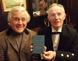 Wilson Burgess & John Killen of the Linen Hall Library, Belfast