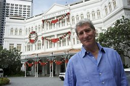 Jeremy at the Raffles Hotel