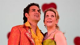 Photo: Juan Diego Florez and Joyce DiDonato