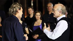 Photo: Harry Christophers and John Rutter