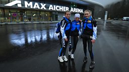 Photo: Susanna, Josephine and Anita, Inzell