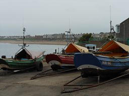 Fishing Boats in Newbiggin