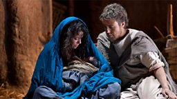 Photo: Mary and Joseph