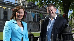 Claire McCollum & Gavin Andrews present Olympic Torch Live: Northern Ireland