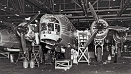 Photo: Building the Wellington Bomber