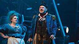 Photo: Thenardier and Madame Thenardier