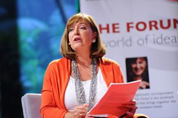 Bridget Kendall at the TED Conference