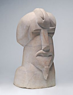 Hieratic Head of Ezra Pound 1914