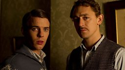 Duncan (Harry Treadaway) and Fraser (JJ Feild)