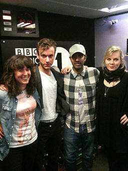 Max from Wolf Gang, Jen Long and Chantelle Fiddy