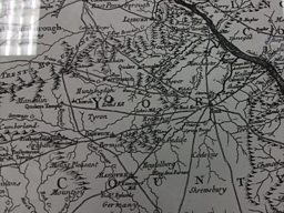 Map of Pennsylvania from 1770