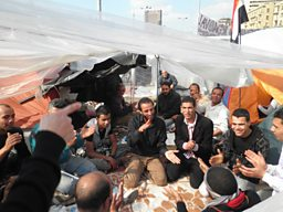 Singing in the Camp, Tahrir Square