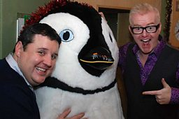 See the photos of  Peter Kay and Rick Astley