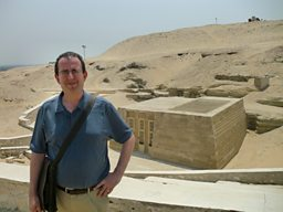 Richard Coles in Saqqara, Egypt