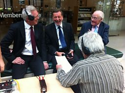David Davies, David Blunkett and Sir Menzies Campbell