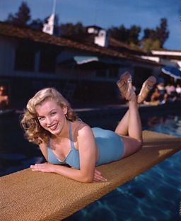 Marilyn Monroe, Palm Springs Exclusive Racquet Club, 1949 