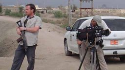 Filming in Iraq