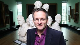 Presenter Michael Mosley in action