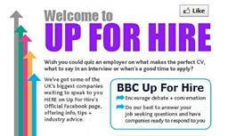 Up For Hire on Facebook