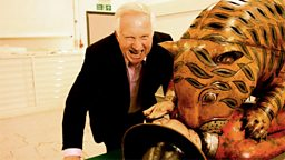 Photo: Dimbleby and Tipu's Tiger