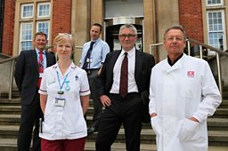 Doctors, nurses and scientists from the RMH and ICR