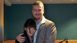 Stephen Tompkinson and Claudia