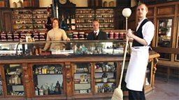 Photo: Victorian pharmacy