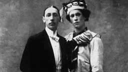 Photo: Igor Stravinsky and Vaslav Nijinsky