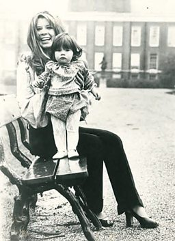 Darcey Bussell and her Mother