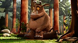 Character profile: Gruffalo (Voiced by Robbie Coltrane)