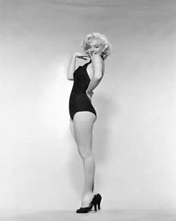 Marilyn Monroe, Pin-up publicity photo, 1952