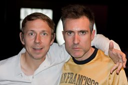 Gilles Peterson joined by Richard Russell in the studio