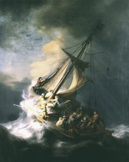 Rembrandt, The Storm on the Sea of Galilee, 1633