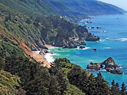 The coast at Big Sur