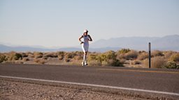 Running 135 miles across Death Valley