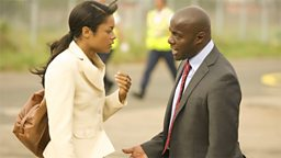 Photo: Alice Omuka and Ed Daly