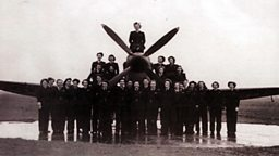 Photo: Air Transport Auxiliary group