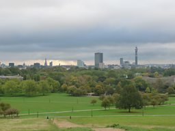 View of London skyline from Primrose Hill