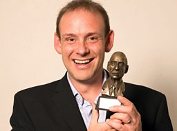 Andy Whittaker with his Gillard Award