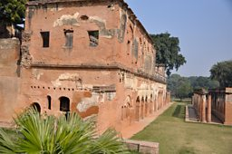 The ruins of the British Residency in Lucknow