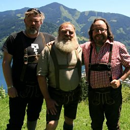 The mighty beard and lederhosen of Fritz Sendlhofer 