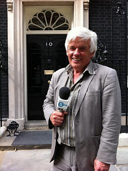 Peter Allen at Number 10 Downing Street